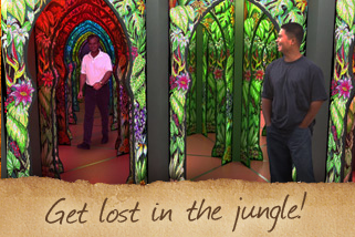 Get lost in the jungle!